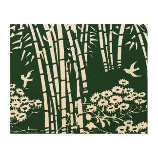 Bamboo Forest--Old Japanese Art