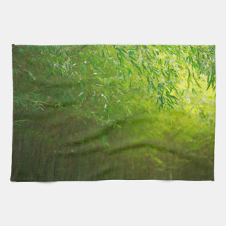 Bamboo forest tea towel