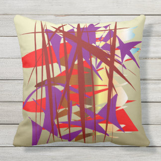Bamboo Garden Outdoor Cushion