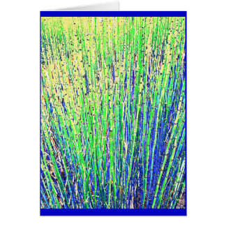 Bamboo Grass Card