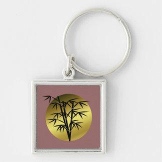 bamboo key ring