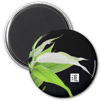 Bamboo Leaves Good Luck Good Fortune Magnet
