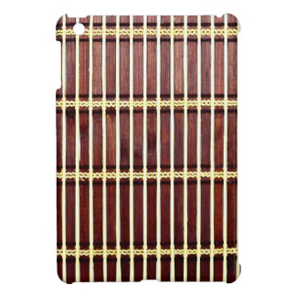 bamboo mat texture iPad mini cases