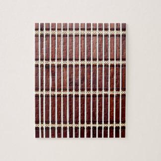 bamboo mat texture jigsaw puzzle