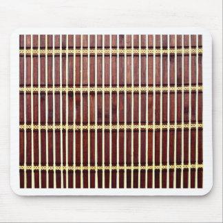 bamboo mat texture mouse pad