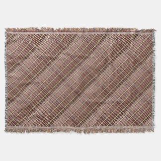 bamboo mat texture throw blanket
