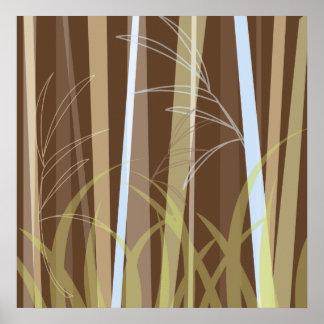 Bamboo on Terra Firma Poster
