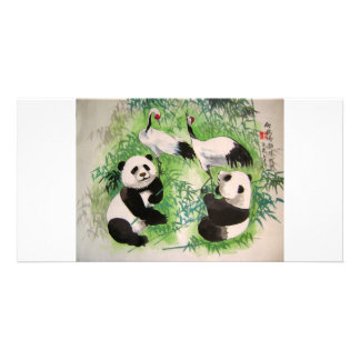 bamboo orchestra photo card template