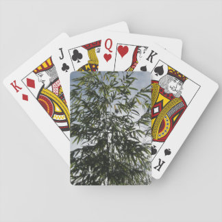 bamboo playing cards