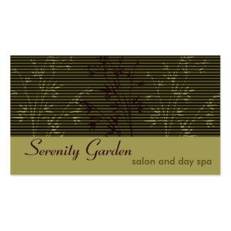 Bamboo Salon or Spa Business Card