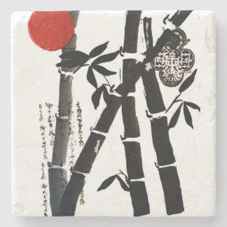 Bamboo Stone Coaster