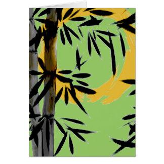 Bamboo Sun Birthday Card by HereZen