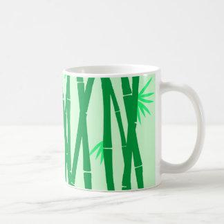 bamboo texture coffee mug