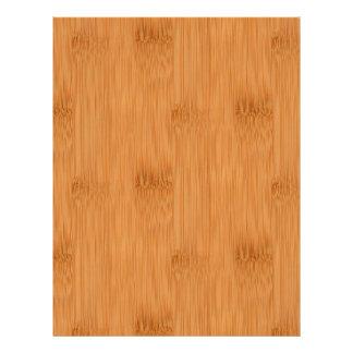 Bamboo Toast Wood Grain Look 21.5 Cm X 28 Cm Flyer