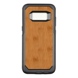 Bamboo Toast Wood Grain Look OtterBox Commuter Samsung Galaxy S8 Case