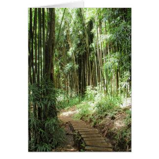 Bamboo Trail Card