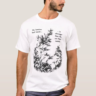 Bamboo Tree Swaying in the Breeze T-Shirt