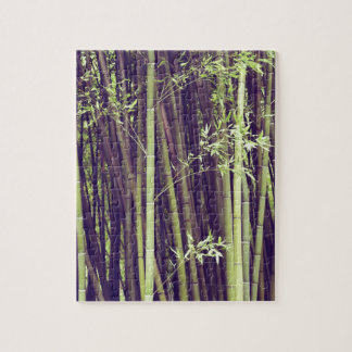 Bamboo trees jigsaw puzzle