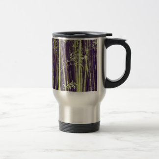 Bamboo trees travel mug