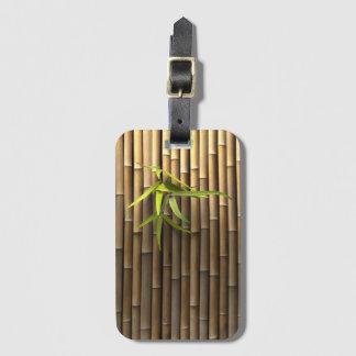 Bamboo Wall Luggage Tag