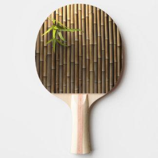 Bamboo Wall Ping Pong Paddle