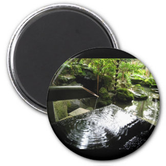 Bamboo Waterfall in Japan Magnet