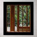 Bamboo Window Print