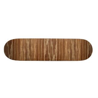 Bamboo Wood 01 Custom Skate Board