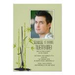 Bamboo Zen Photo Invitation