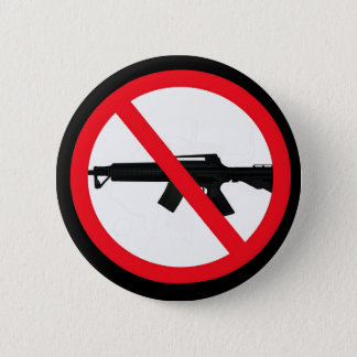 Ban Assault Weapons 6 Cm Round Badge