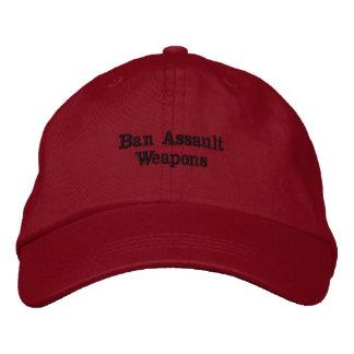 Ban Assault Weapons Embroidered Hat