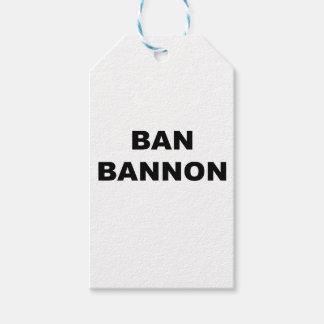 Ban Bannon Gift Tags