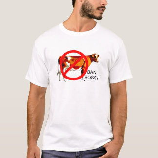 Ban Bossy Campaign Cow T-Shirt