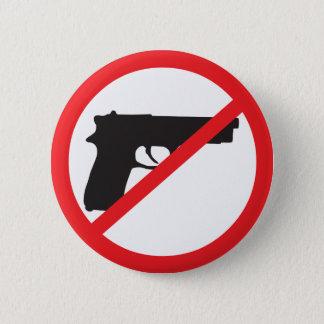 Ban Guns Anti-Gun Pacifist 6 Cm Round Badge
