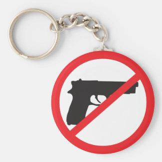 Ban Guns Anti-Gun Pacifist Key Chains