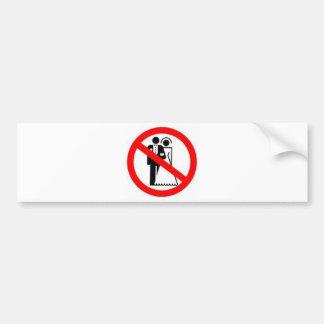 Ban Heterosexual Marriage Bumper Sticker