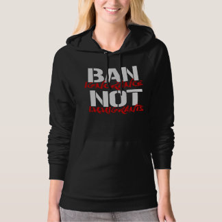 Ban Ignorance Not Immigrants --  white - Hoodie