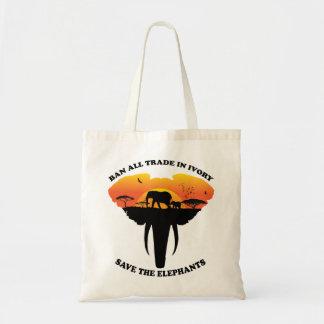 Ban Ivory Tote Bag