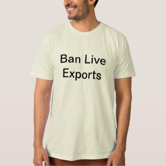 Ban Live Exports Tee
