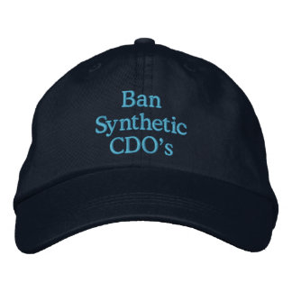 Ban Synthetic CDO's Embroidered Hat