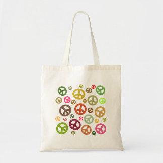 Ban the Bomb Peace Symbol Tote Bag