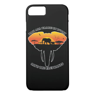 Ban trade ivory phone case