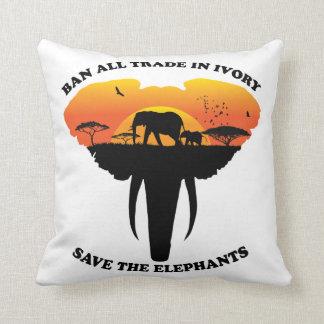 Ban trade ivory Pillow