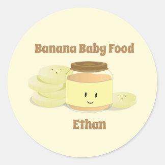 Banana Baby Food Cartoon | Sticker