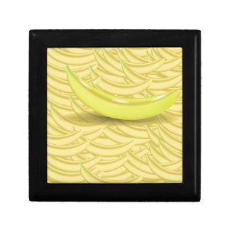 Banana Background Gift Box