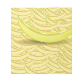 Banana Background Notepad