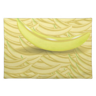 Banana Background Placemat