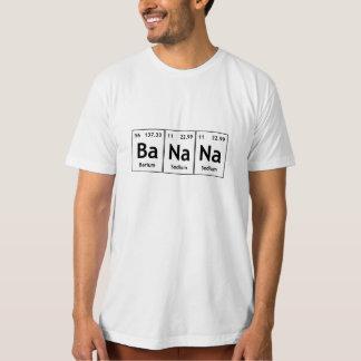 BaNaNa Barium Sodium Chemistry Elements Funny Word Tshirts