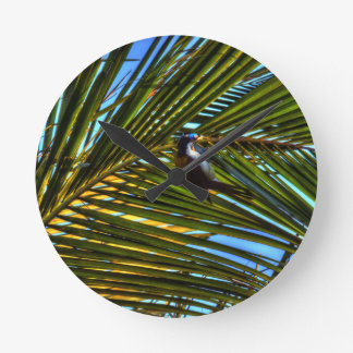 BANANA BIRD RURAL QUEENSLAND AUSTRALIA WALLCLOCKS