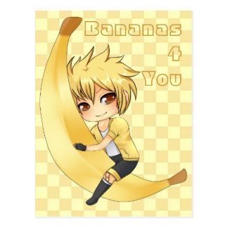 Banana Boy chibi Postcard